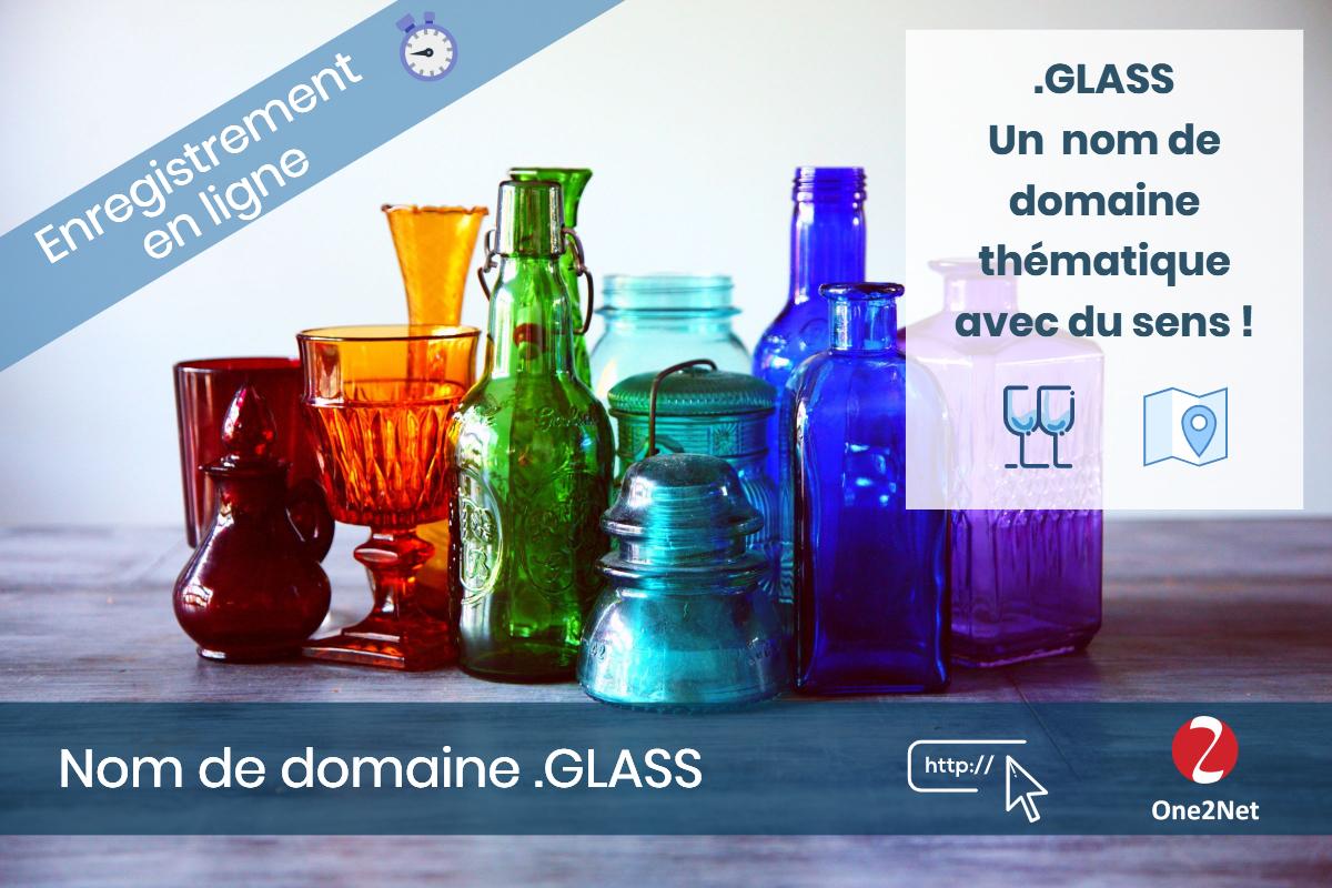 Nom de domaine .GLASS - One2Net