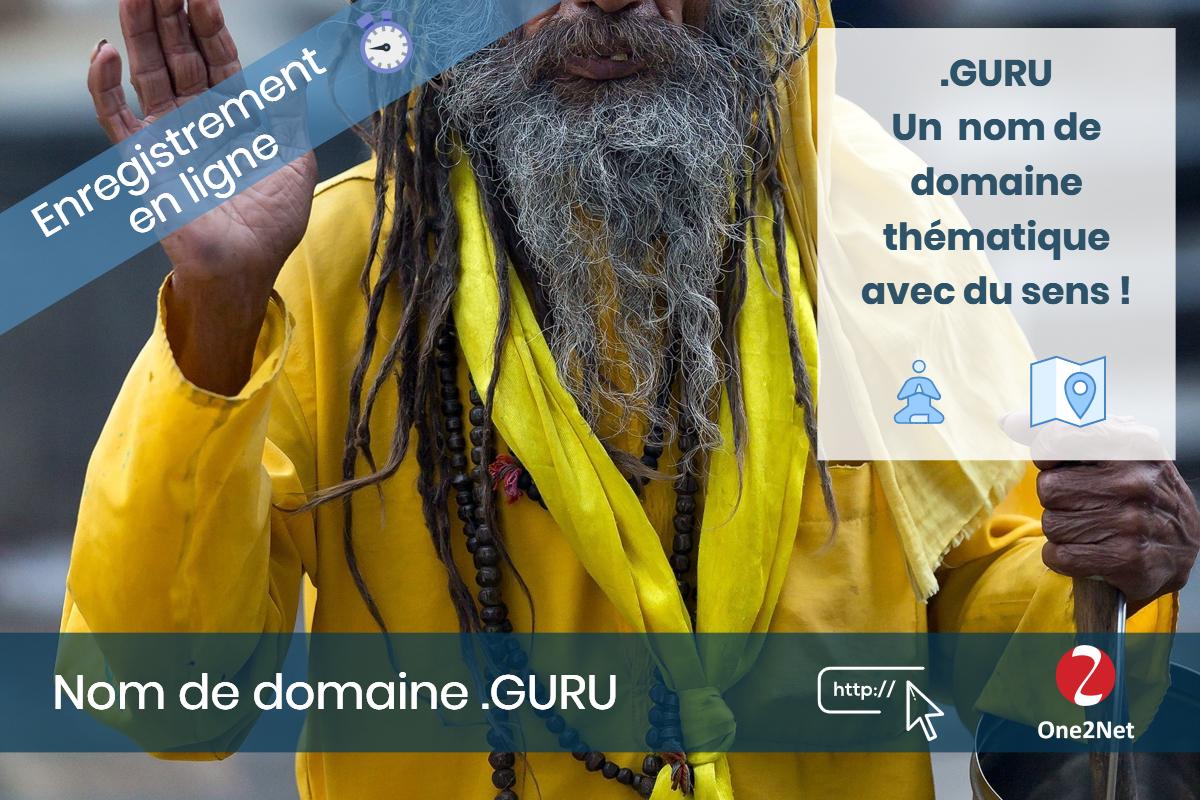 Nom de domaine .GURU - One2Net