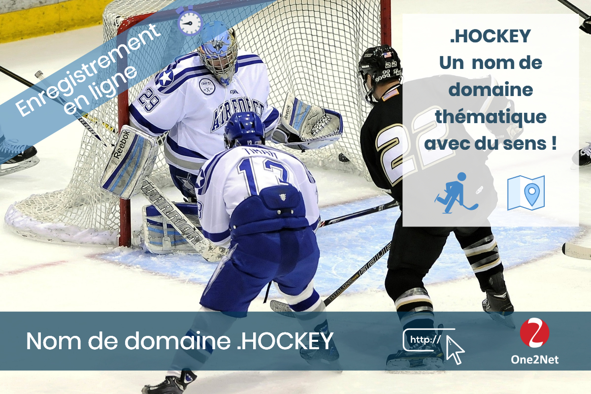 Nom de domaine .HOCKEY - One2Net