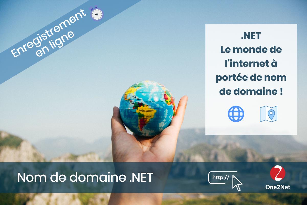 Nom de domaine .NET - One2Net