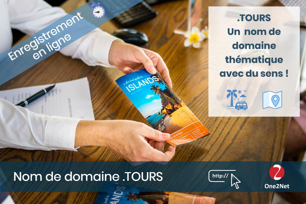 Nom de domaine .TOURS - One2Net