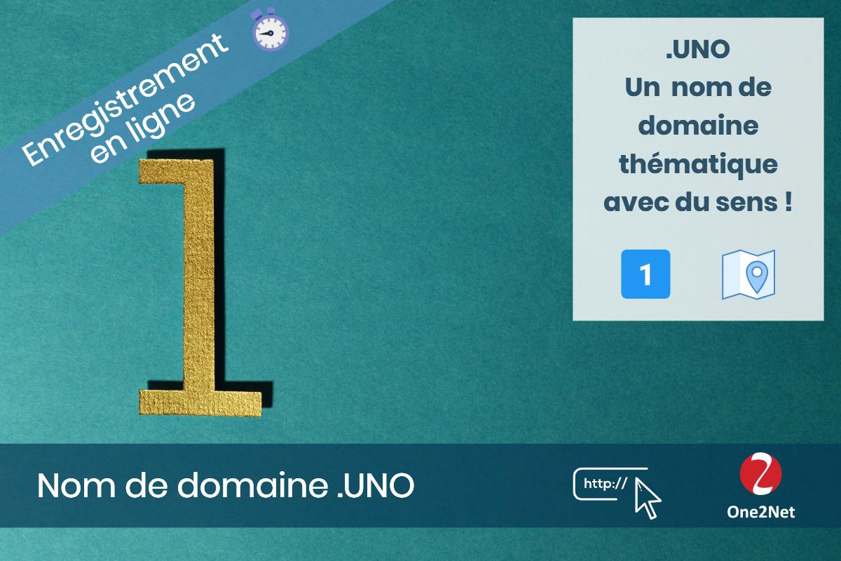 Nom de domaine .UNO - One2Net