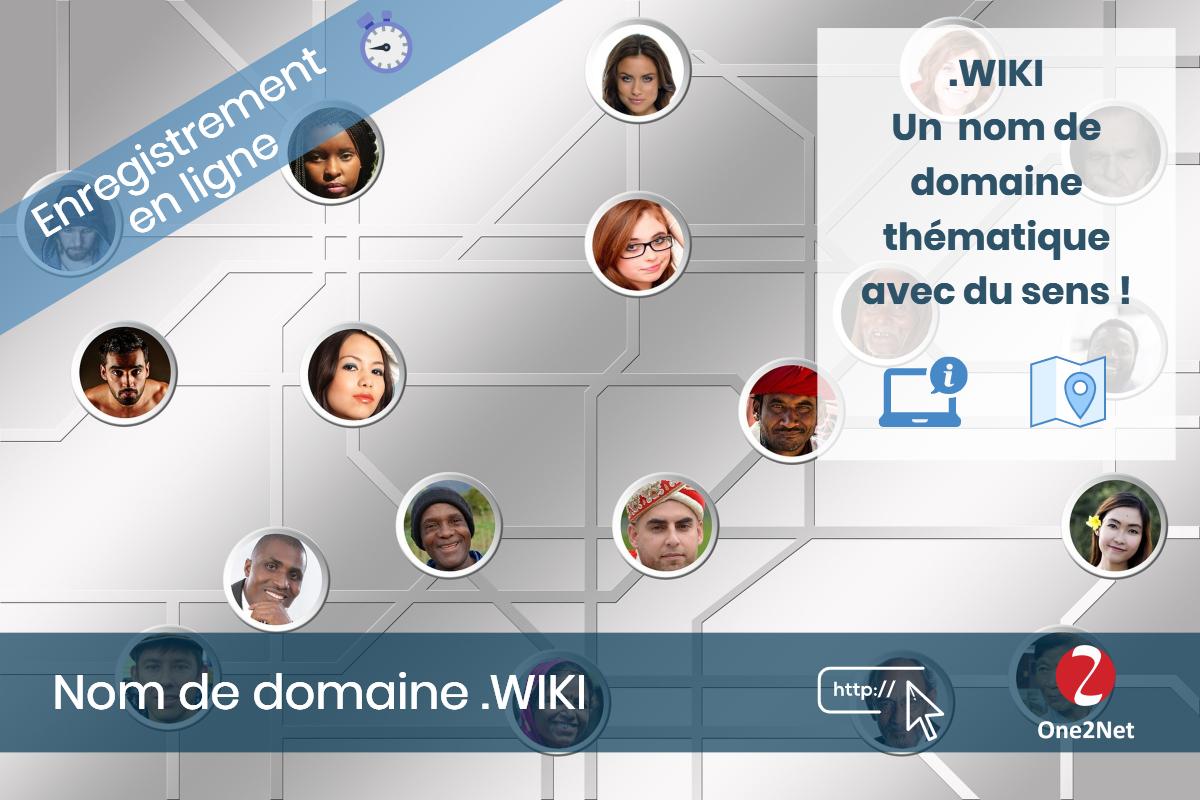 Nom de domaine .WIKI - One2Net