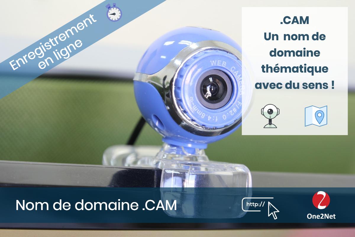 Nom de domaine .CAM - One2Net