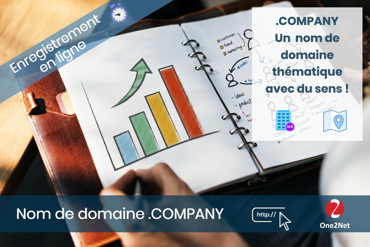 Nom de domaine .COMPANY - One2Net