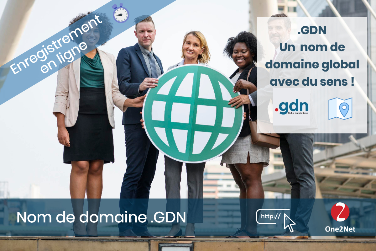 Nom de domaine .GDN (Global Domain Name) - One2Net