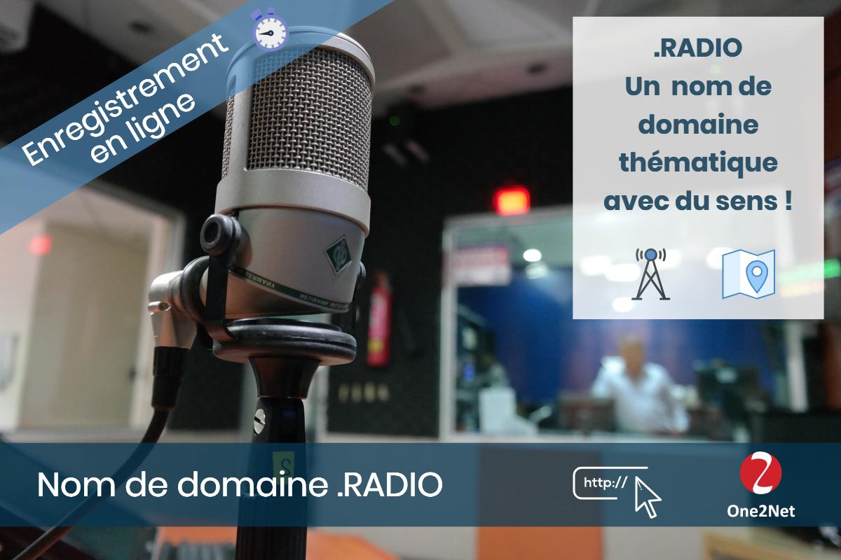 Nom de domaine .RADIO - One2Net