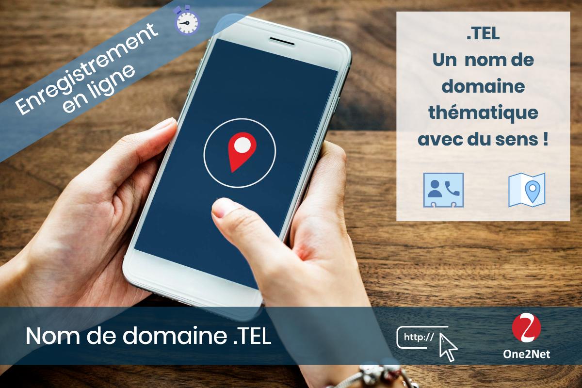 Nom de domaine .TEL - One2Net