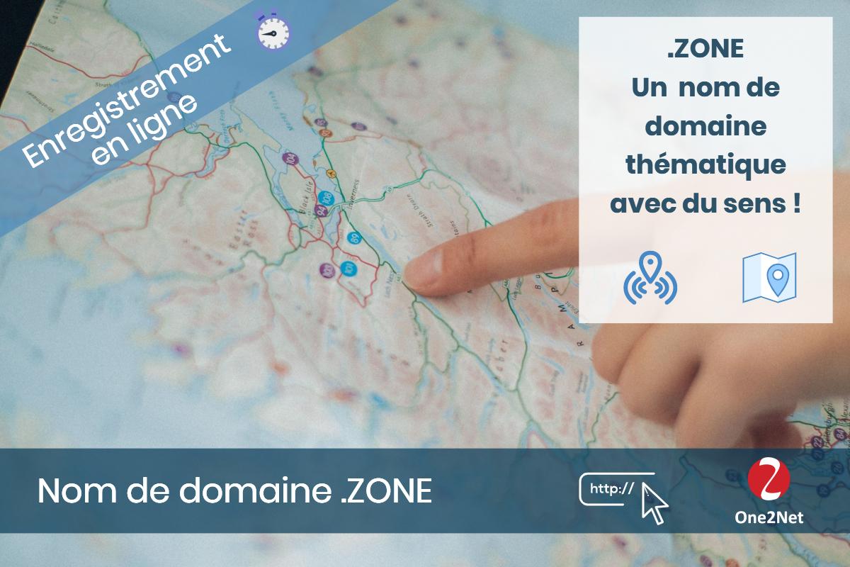 Nom de domaine .ZONE - One2Net
