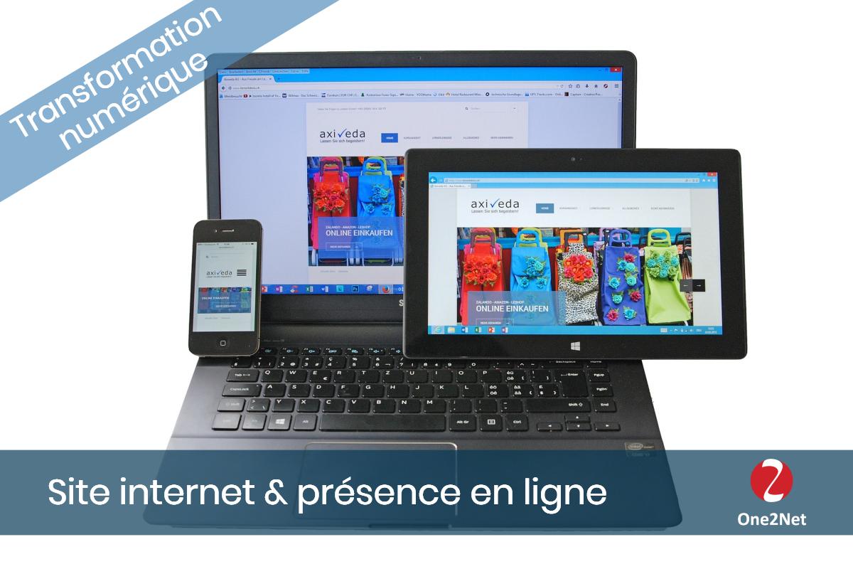 Site internet et présence en ligne