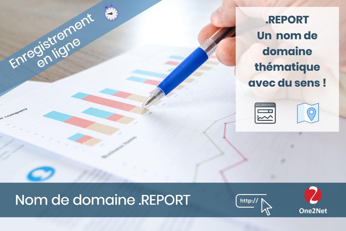 Nom de domaine .REPORT - One2Net