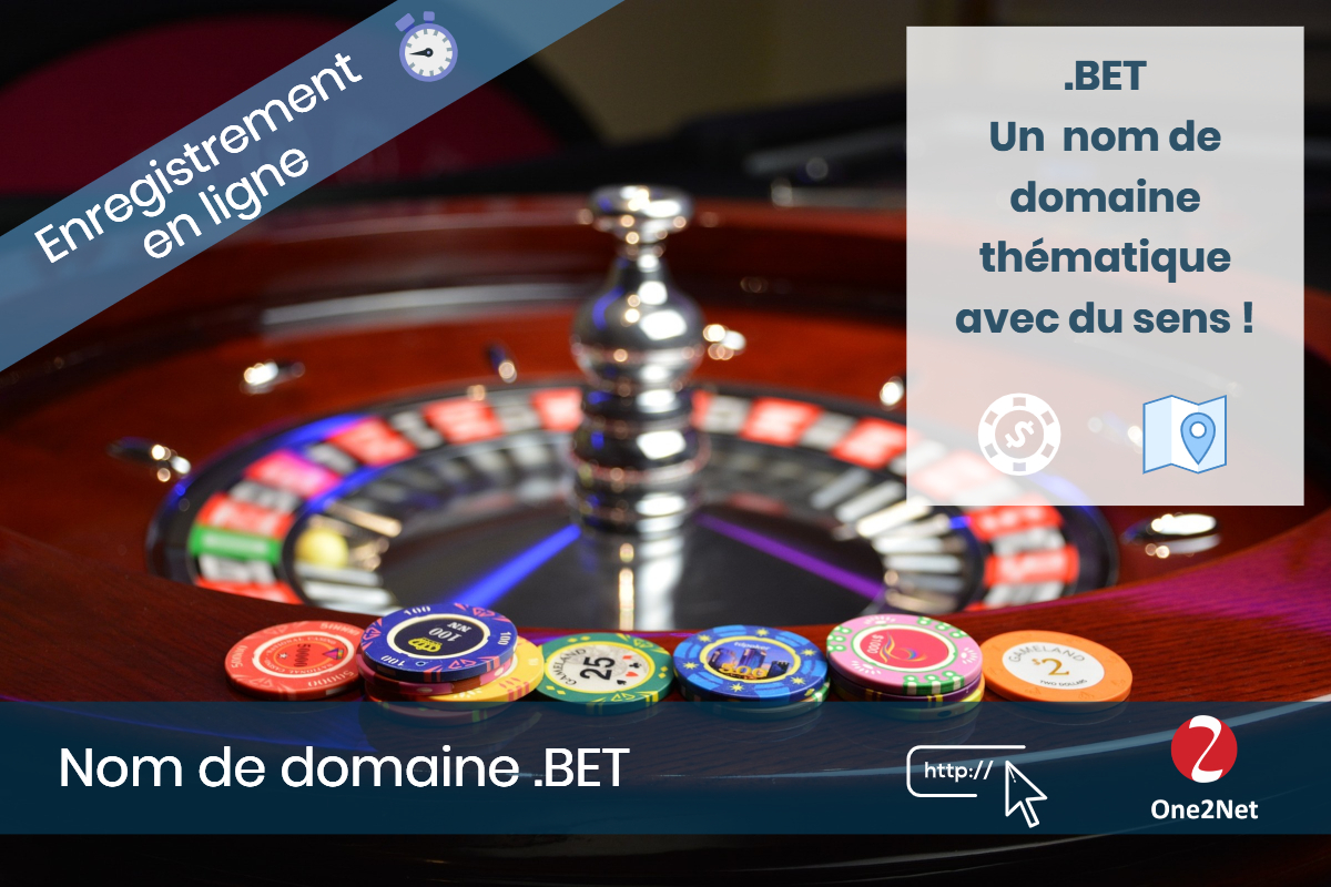 Nom de domaine .BET - One2Net