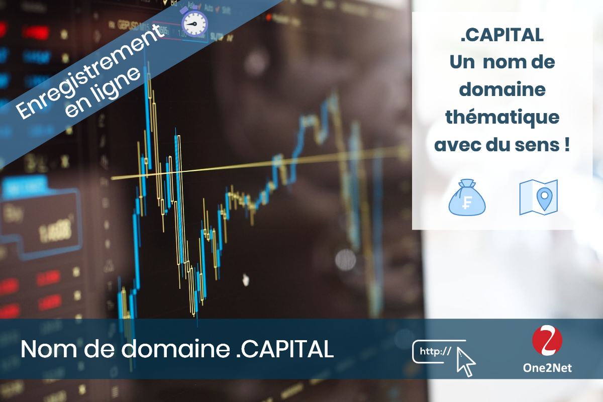 Nom de domaine .CAPITAL - One2Net