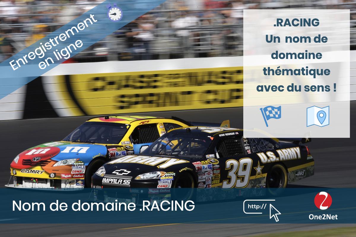 Nom de domaine .RACING - One2Net