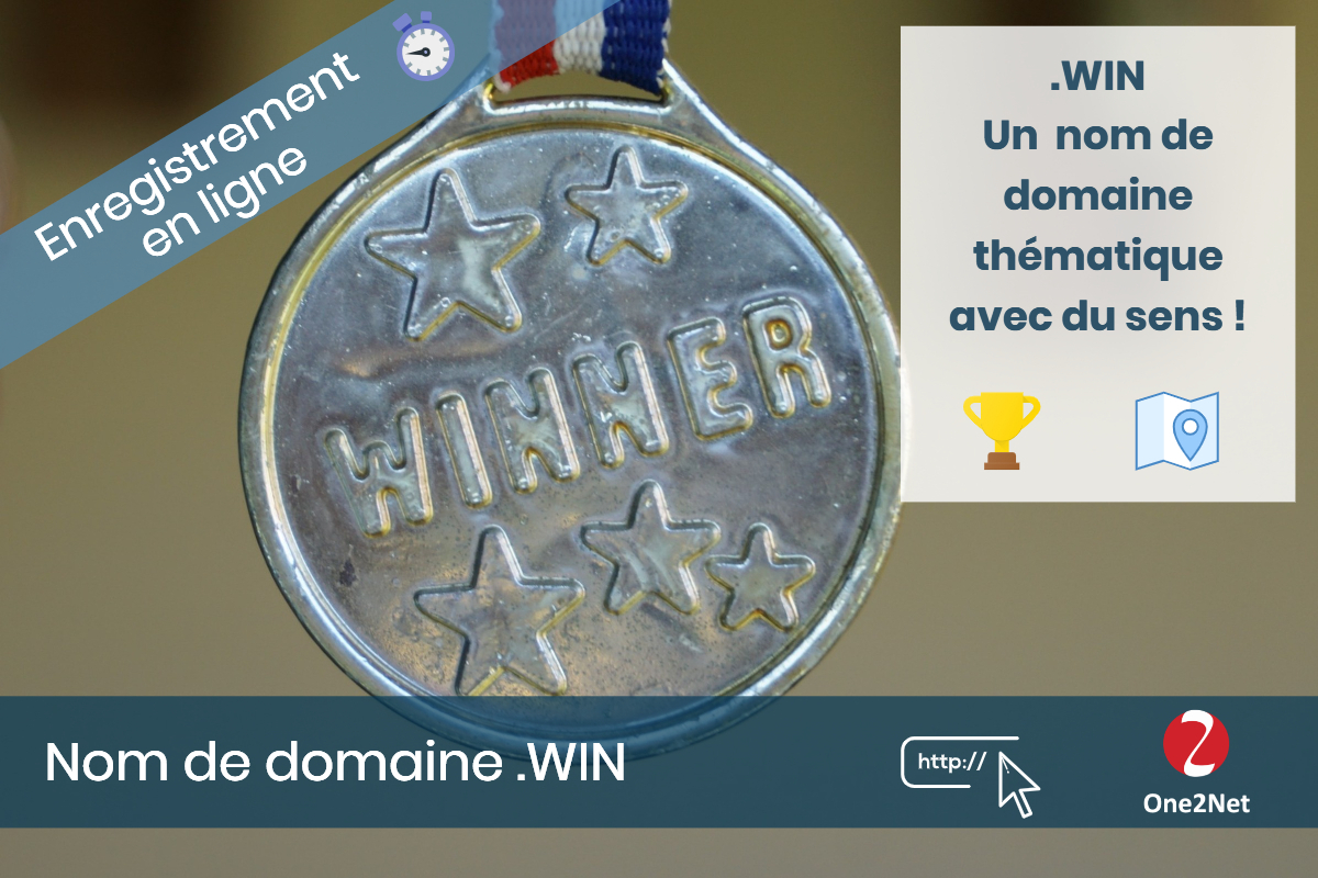 Nom de domaine .WIN - One2Net