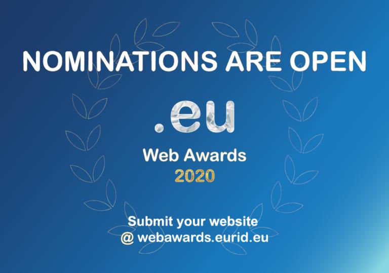 .eu web awards 2020