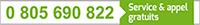 0 805 690 822 Numéro vert gratuit One2Net