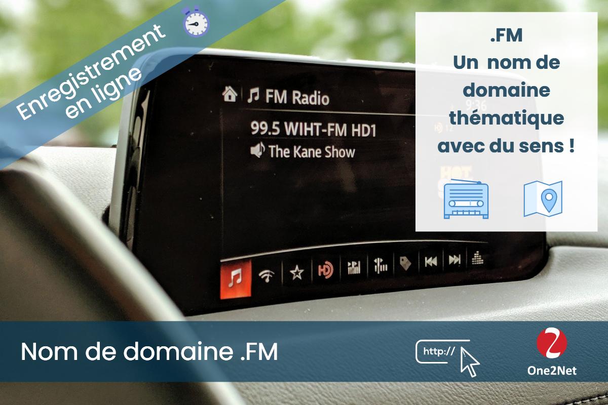 Nom de domaine .FM (Micronésie) - One2Net