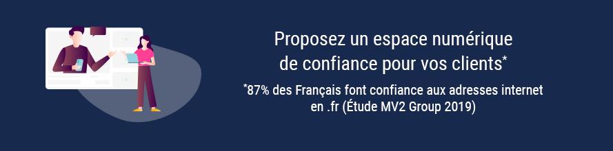 Confiance du .fr