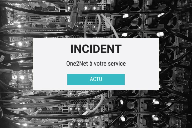 Opération incident
