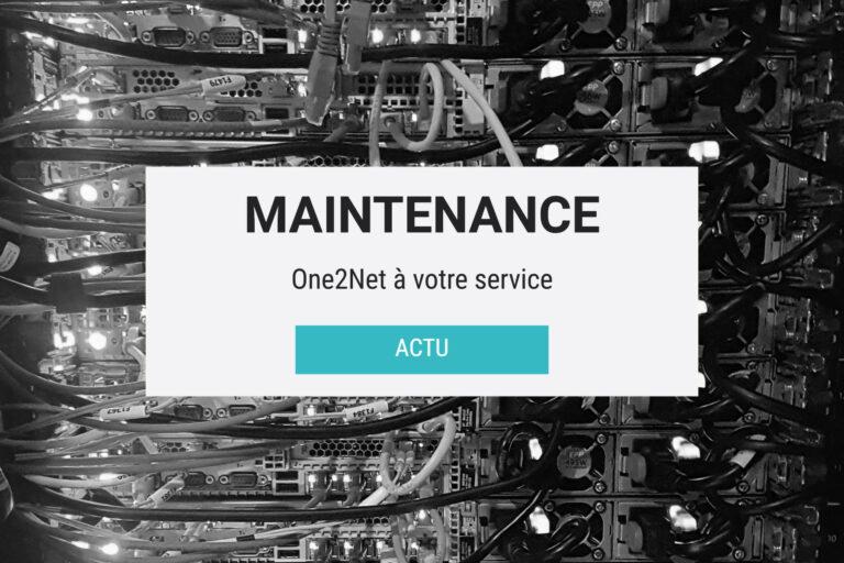 Opération maintenance