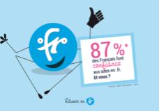 87% des Français trouvent qu'une adresse en .fr donne confiance