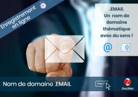 Nom de domaine EMAIL